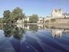 Le château des ducs de Bretagne et le miroir d'eau