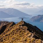 Views from the climb up to Mt Roy: Lake Wanaka, New Zealand thumbnail
