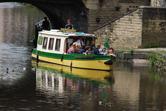 Canal trips ...... (Halliwell_Michael ## Offline mostlyl ##) Tags: brighouse westyorkshire brighouse1940swe brighouse1940sweekend nikond40x 2017 calderhebblecanal narrowboats canalbasin reflection reflections water canals reflectionslovers