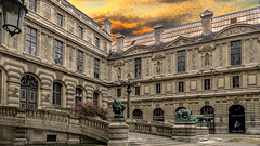 Musée du Louvre (Bernai Velarde-Light Seeker) Tags: muséedulouvre louvre old buidling travel tourism clouds bernai velarde paris france europe architecture palace