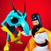 Space Ghost (WEBmikey) Tags: toys spaceghost zorak hannabarbera funkopop mego figurestoycompany