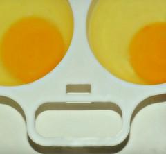 What's over easy....!!!!!????? (nushuz) Tags: smalleggpoacher macromondays pareidolia eggs funny croppedalotfor3inchrule overeasy yikes happymemorialday alwaysremember alittlehumorformacromondays lookslikeasurprisedalienface et eggscellent