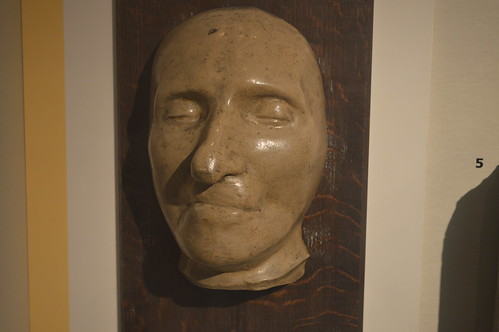 Thomas Paine's death mask