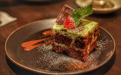 #greentea #tiramisu #eggless #dessert (emilychieng) Tags: greentea tiramisu eggless dessert