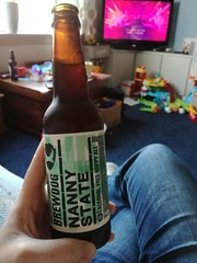 Day 145/365 - Nanny State (Cap'n Hef) Tags: 365days 365 selfportrait may nannystate brewdog nonalcoholic beer pregnant celebrate drink