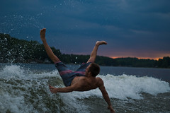 It costs you something to do good (Liza Williams) Tags: zoranealehurstonquote crash minolta50mm 50mm minolta green blue athlete shawnfulks wakesurfing watersports water lake lakespivey