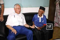 Lawatan ke rumah Encik Ghani ABD Rahman ( Jom Bantu Rakyat).Kg Padang Kerbau,Temerloh,Pahang.20/4/17