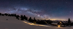 1 Night on the Ibergeregg ¦¦2¦¦ (PhiiiiiiiL) Tags: oberiberg schwyz schweiz ch panorama switzerland milky way milkyway nightsky night nightshot himmel nacht