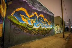 DTLArt (PhotonLab) Tags: pearces garage rossly hotel dtla night scene shooter architecture streets urban lights sony a7ii zeiss lens tower building city panoramic pano panorama wideangle epic wall graffiti graff bomb bombing tagging calligraphy art mtn mtn94 style wildstyle handstyle mosaic tank one tankone