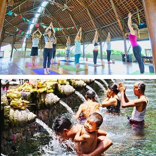 """""""Crafting artisanal experiences in Bali from a true oasis of wellness in paradise""""  BECAUSE YOU'VE EARNED IT.  FLOATING LEAF ECO-LUXURY RETREAT Walk in. Float out.   http://balifloatingleaf.com  #RESORT 