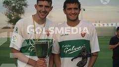 Final Copa Federación Juvenil. Celebración Elche CF campéon (01/06/2017), Jorge Sastriques.