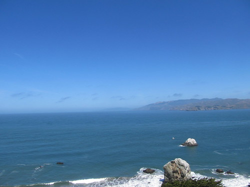 Pacific Ocean from Lands End