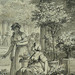 MONNET Charles - La Promenade (drawing, dessin, disegno-Louvre RF34443) - Detail 38