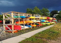 Waterboards and Kayaks (markchevy) Tags: waterboards kayaks boardwalk belmar marina beach ocean nj newjersey landscape photo pictorial pix scene graphic picture vista colorful interesting colorsinourworld markchevy johnspilatro