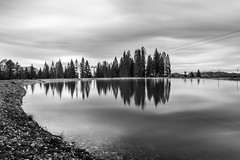 2017.06.04. Hinterstoder (Péter Cseke (mostly OFF until July 23)) Tags: formatt firecrest hitech nd nikon nature landscape lake alps alpine blackandwhite monochrome mono d750 trees mountains sky clouds longexposure hinterstoder austria europe travel holiday scenery scenic beautiful amazing outdoors