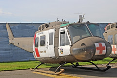 BELL UH-IV IROQUOIS 68-16165 USA ARMY CA ANG (shanairpic) Tags: helicopter uhi belluh1 iroquois huey mcclellan usarmy californiaang 6816165