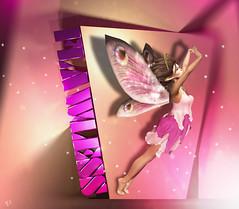 Flawless fae (meriluu17) Tags: foxcity monalisa ml fairy fae fairytale flawless fly flying pink peach purple pastel portrait people