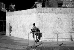 After school, Kowloon City, Hong Kong (Job Homeless) Tags: people portrait leica life living monochorme monotone m8 streetsnap streetphotography blackandwhite bw