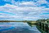Dike Bridge, Chappaquiddick (John Piekos) Tags: pochapond spring kennedy marthasvineyard chappaquiddick dikebridge capepoge water dykebridge sky sony edgartown reflection rx100 clouds