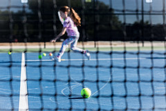 tennis lessons (auntneecey) Tags: bokeh blur tennis 365the2017edition 3652017 day165365 14jun17 hbw odc playinggames
