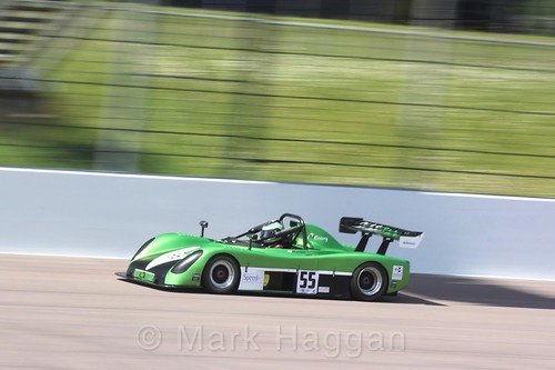 Mark Abbott in the Excool BRSCC OSS Championship at Rockingham, June 2017