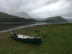 Loch Arkaig (What I saw...) Tags: hou canoe prospector loch arkaig scotland highlands