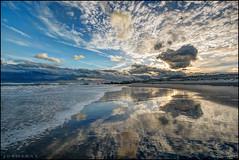 Where I go to Reflect (Nikographer [Jon]) Tags: lidobeach lidowest newyork atlanticocean atlantic ocean lido beach ny lbny lb 20170507d810070608 nikon d810 reflection surf sand reflect