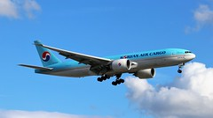 HL8005 Boeing 777-FB5 Korean Air Cargo (R.K.C. Photography) Tags: hl8005 boeing 777fb5 b777 aircraft airliners freighter cargo koreanair london england unitedkingdom uk hattoncross kal ke londonheathrowairport lhr egll canoneos100d