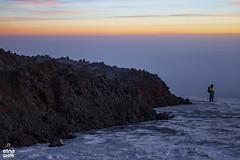 """Can you ski in Sicily?!"" (Etna Walk) Tags: etna ski canyouskiinsicily etnawalk lava eruption etnalavaski etnaski lavaski"