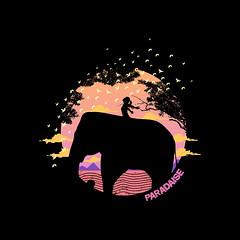 Paradaise (www.instagram.com/thiagor6/) Tags: arte ilustração design vetor thiagor6 desenho