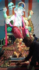 20160915_114502 (bhagwathi hariharan) Tags: ganpati ganesh ganpathi ganesha ganeshchaturti ganeshchturthi lordganesha god lord nalasopara nallasopara mumbai sarvajanik utsav