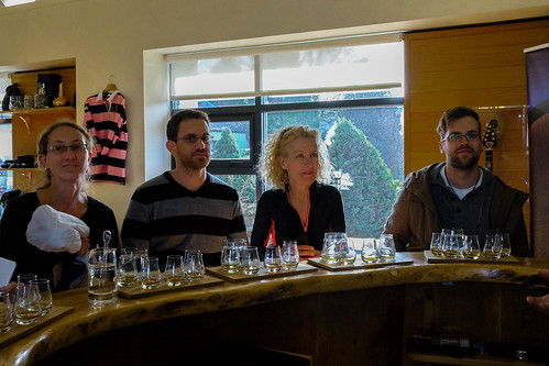 Tasting after The Macallan tour