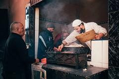 The Art of Kebab (toletoletole (www.levold.de/photosphere)) Tags: fujixt2 marokko marrakesch xf18mmf2 market kasbah bazaar morocco porträt street portrait people