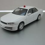 LV-N126a NISSAN SKYLINE 25GT-X Police (White)