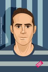 retrato2605 (Rokowonkamon) Tags: portrait retrato caricatura male cartoon cartoonist caicaturista ilustrador arte art digitalart wonkamon