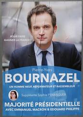 Pierre-Yves Bournazel (emmanuelsaussieraffiches) Tags: affiche politique political poster lesrépublicains