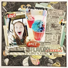 LOAD28 All the Flavors! (girl231t) Tags: 2017 layout scrapbook 12x12layout paper load load28 load517