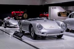 Porsche 550 spyder & 718 Formel 2 (Laurenceoleo) Tags: porsche museum stuttgart germany history car nikon d750 911 918 carrera gt 917 935 gt1 gt2 gt3 919 le mans speedster 356 906 959 993 964 996 997 spyder racing weissach zuffenhausen deutschland