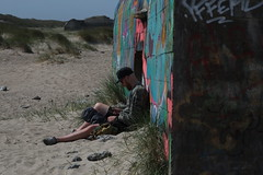 Hipster Bunker Beach (Testlicht) Tags: