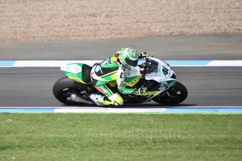 Roman Ramos in World Superbikes at Donington Park, May 2017