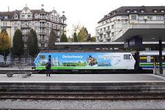 20081021 017 Luzern. An Unidentified Südostbahn RE 456 Arrives From Romanshorn (15038) Tags: railways trains switzerland südostbahn sob re456 luzern unidentified sbb cff ffs
