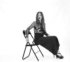 Model Laura Mariotti (Margcoss) Tags: sedia portrait ritratto