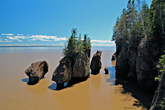 Rochers Hopewell Rocks (2-2) (deplour) Tags: rochers hopewell rocks baie fundy bay marée tide inexlpore explore explored explorer