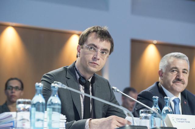 Volodymyr Omelyan attending