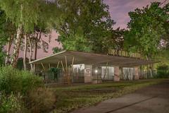 Insomnia (Markus Lehr) Tags: architecture birch trees stadium sportsground urbanspace lowlight longexposure nightshot berlin germany markuslehr