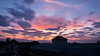 Rooftop Sunrise (MuckeInPivo) Tags: beautiful georgeous morning sunrise sun clouds cloudy blue orange red magenta