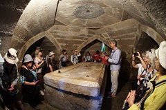 Tamerlain's crypt, Shakrisabz (jozioau) Tags: fisheye tamerlain sarcophagus crypt shakrisabz