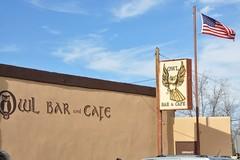 1-033 Owl Bar (megatti) Tags: desert newmexico nm owlbar restaurant sanantonio sign