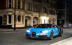 A Random Chiron. (Alex Penfold) Tags: bugatti veyron supecars supercar super car cars autos alex penfold london 2017 blue carbon bulgari
