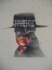 Justice (emilyD98) Tags: personnage maroc petit street art st nazaire insolite chantier naval port espadon sous marin pochoir stencil mur wall saint urban exploration city ville
